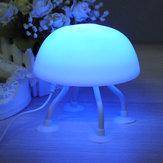 DIY LED Jellyfish Lampe Schreibtischlampe kleines Nachtlicht