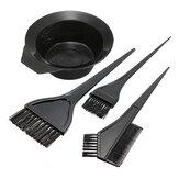 Cor do cabelo Dye Bowl Comb Escovas Kit de ferramentas Conjunto Coloração matiz