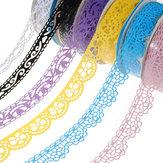 Plastic Hollow Lace Decorative Sticker Adhesive Tape