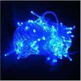 220V 500LED 50m Blue String Decoration Light For Christmas Party