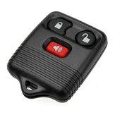 Clave de entrada sin llave caja de cáscara fob remoto para ford 3 botones
