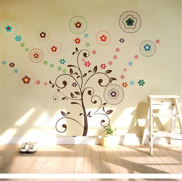 Lucky Tree Wall Stickers Art Decor