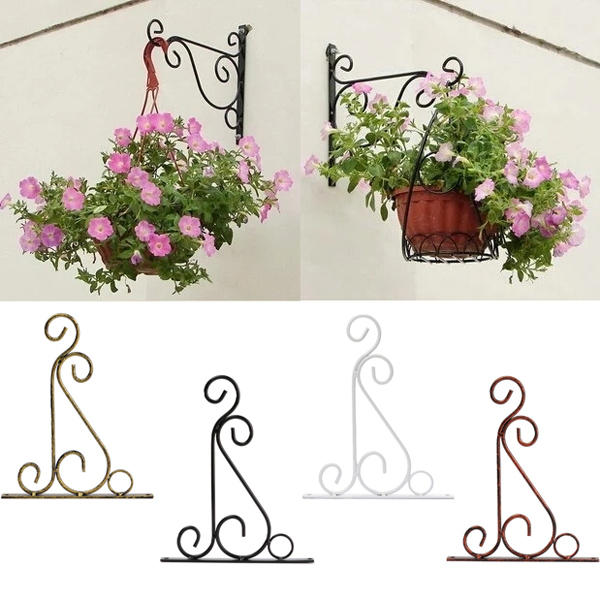 Flower Stand Hook Wrought Iron