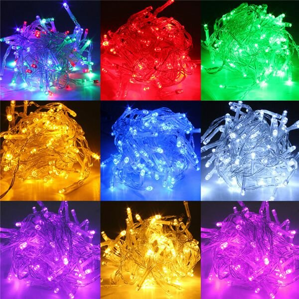 5M Battery Powered LED Funky ON Twinkling Lamp Fairy String Lights