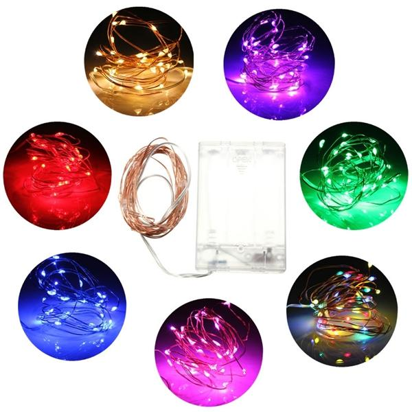 3M 30 LED Battery Powered Fairy String Light Wedding Party Christmas Tree Decoration