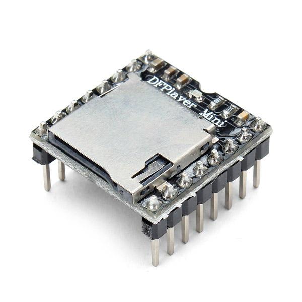 Modul Mini MP3 Player DFPlayer MP3 Suara Audio Decoder Board Untuk Mendukung Kartu TF U-Disk IO / Port Serial / AD Geekcreit untuk Arduino - produk yang bekerja dengan papan Arduino resmi