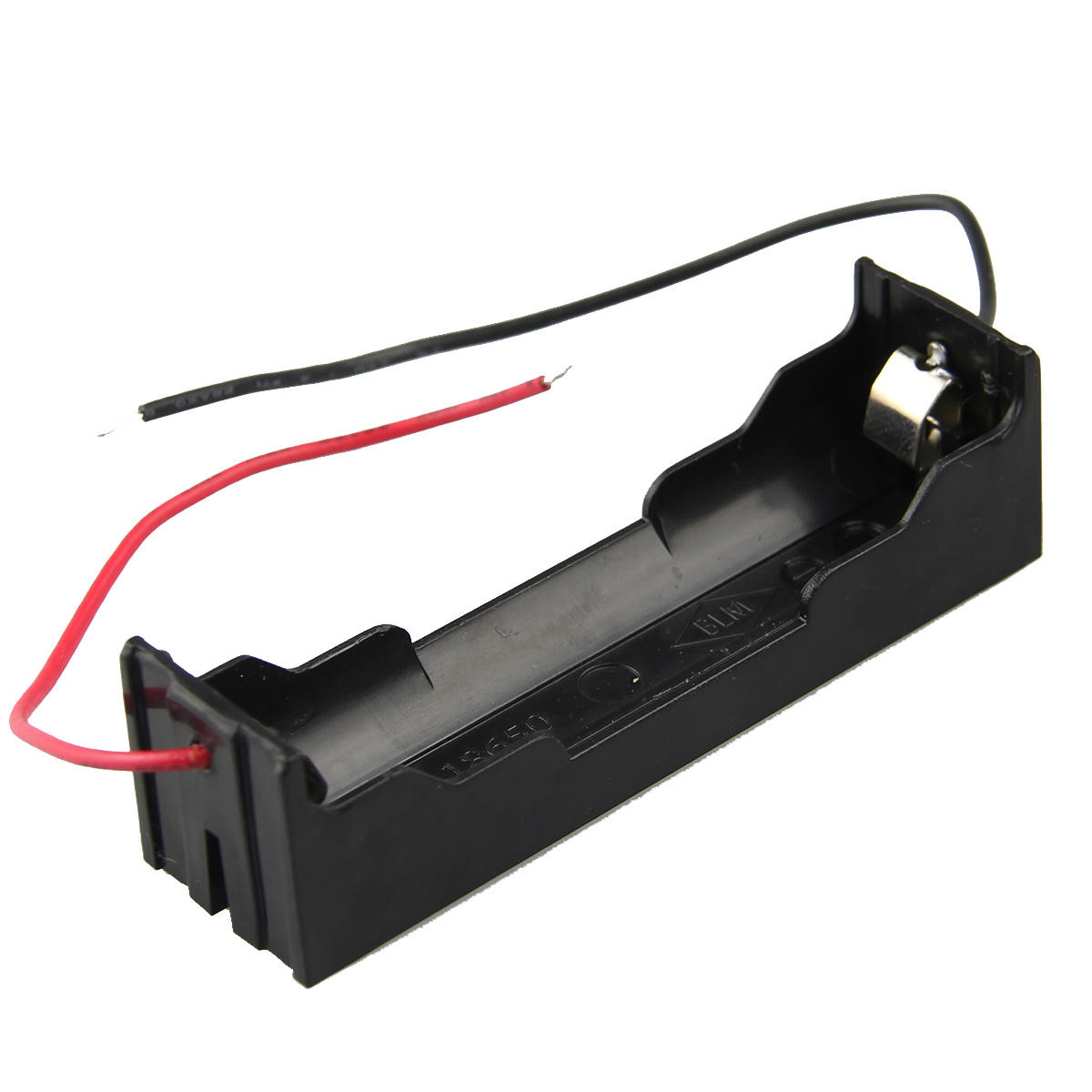 DIY 1 Slot 18650 Battery Holder With 2 Leads