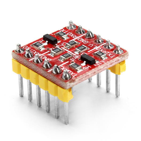 10 st 3.3V 5V TTL tvåvägs logisk nivåomvandlare Geekcreit för Arduino - produkter som fungerar med officiella Arduino-br