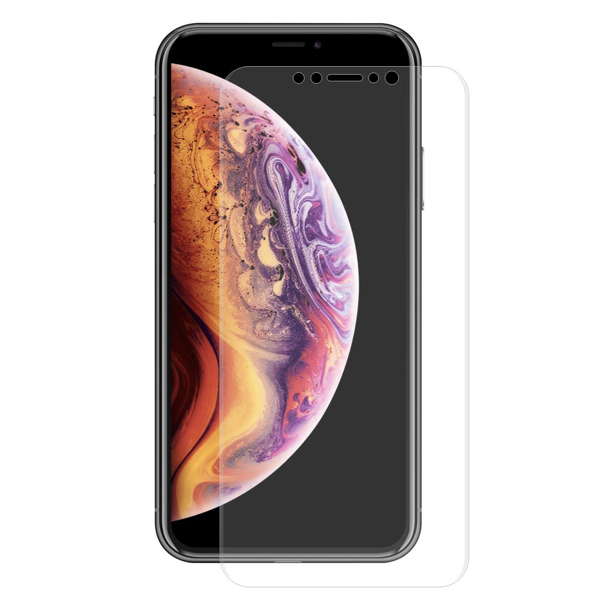 Enkay skjermbeskytter for iPhone XS Max / iPhone 11 Pro Max 3D buet kant Hot Bending Soft KJÆLEDYR-film