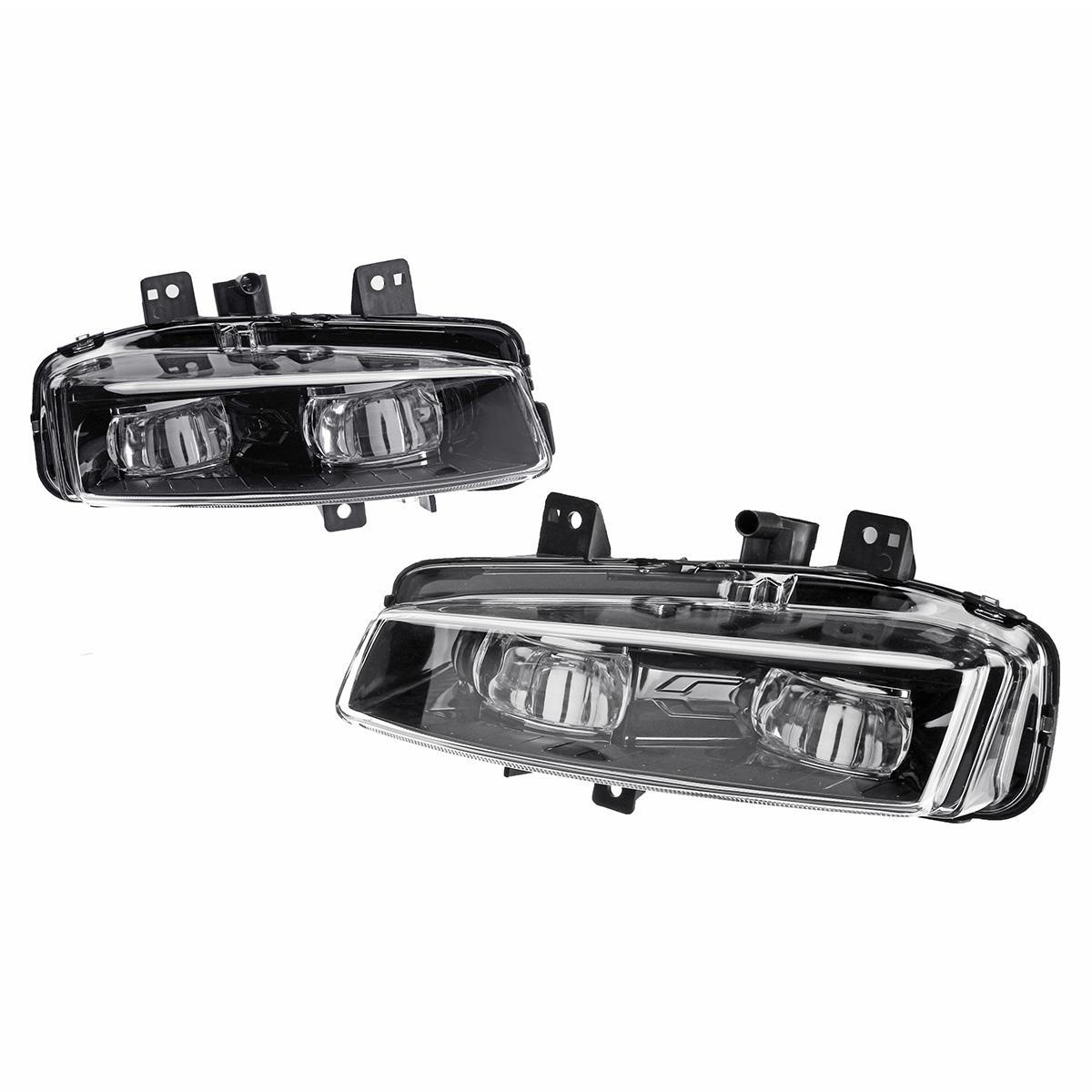 Lampu Bumper Mobil LED Bumper Depan Lampu Putih untuk Range Rover Evoque Dinamis 2011-2016