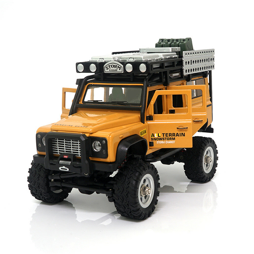 SG 2801 1/28 2.4G 4WD Simulation Model RC Car Army Desert Alloy Climbing Off Road Vehicle Models