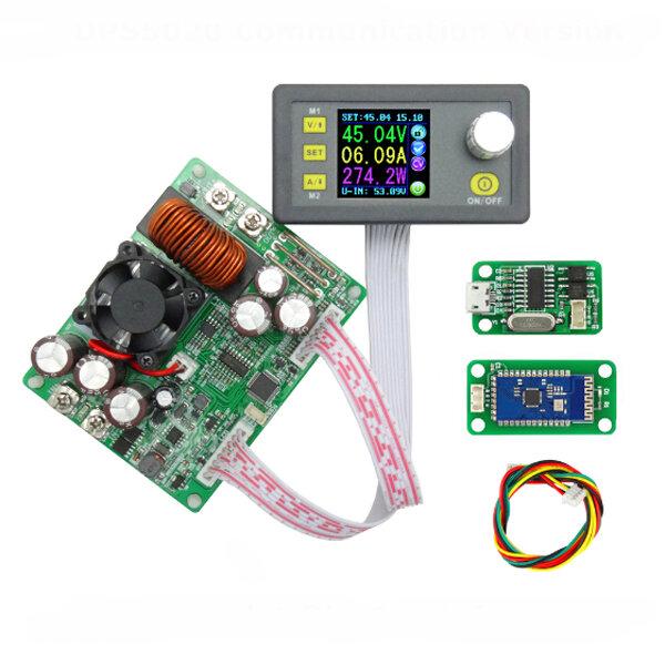 RIDEN® DPS5020 Constant Voltage Current Step Down Communication Digital  Power Supply Buck Voltage Converter LCD Voltmeter 50V 20A