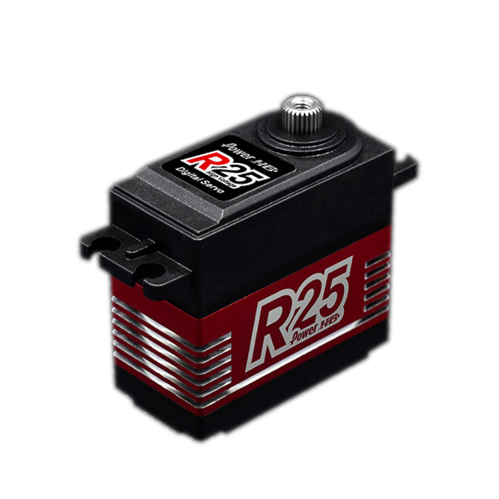 Power HD R25 Metal Gear 25KG Coreless High Speed Digital Servo For RC Models