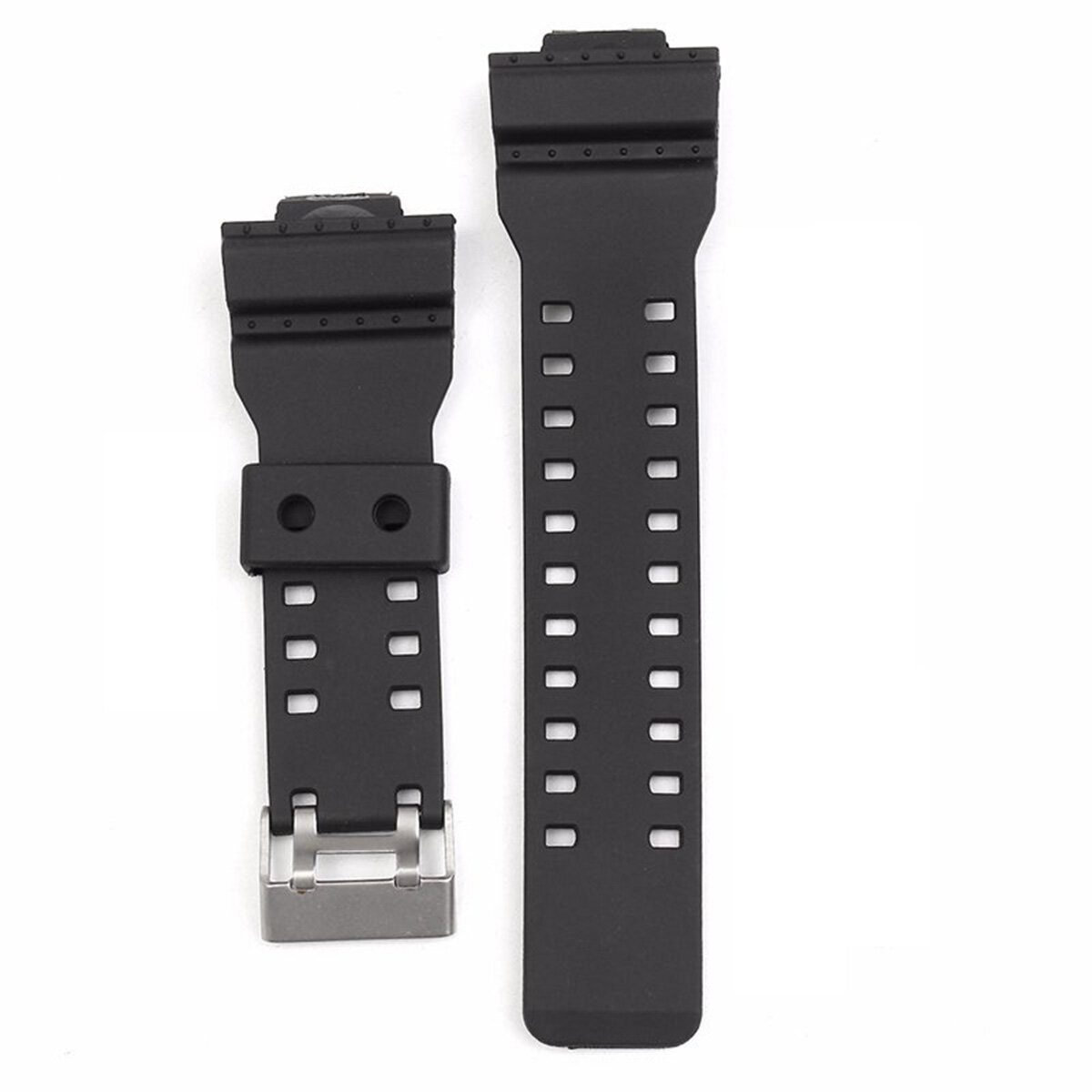 Watch Strap Band With Pins Fits Untuk Casio G Shock 16mm GA-100 G-8900 GW-8900