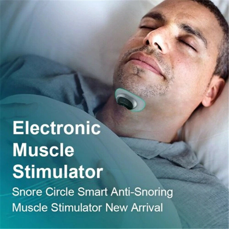 20pcs Snore Circle Conductive Strips for Anti Snoring Muscle Stimulator Device Sleep Instrument