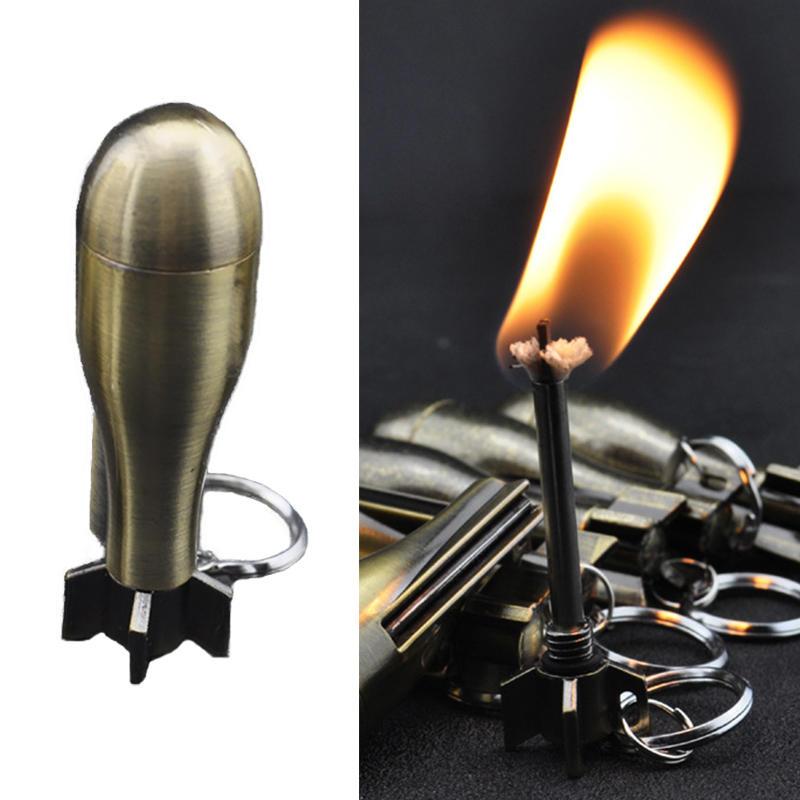IPRee® Outdoor Ignitor Starter Zinc Alloy Kerosene Missile 10000 Times Fire Lighter