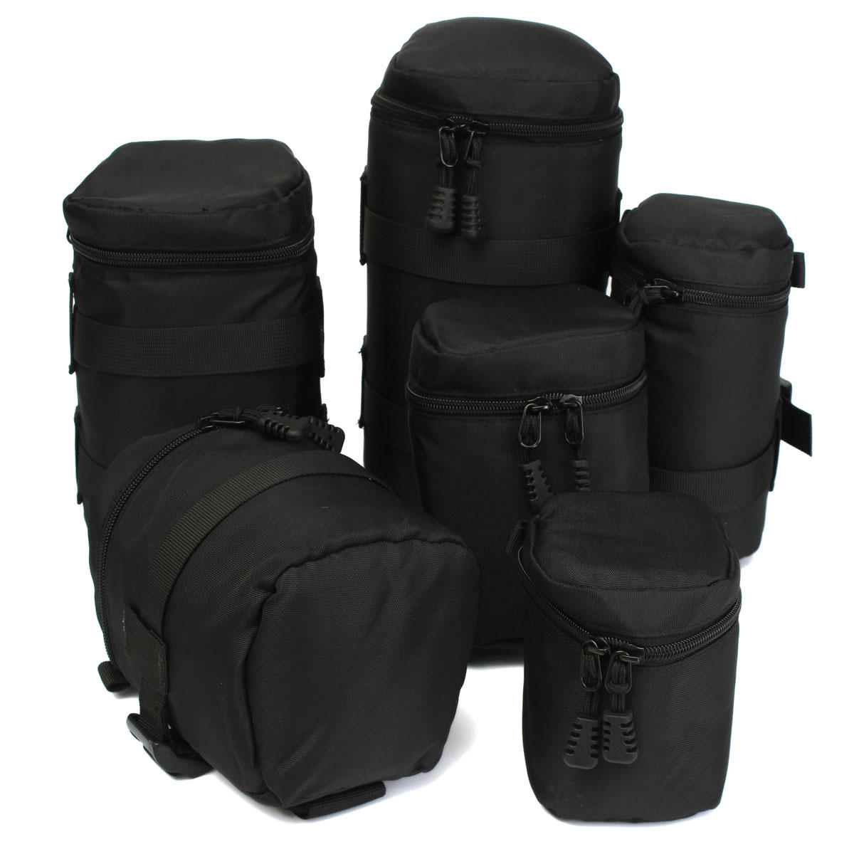 Waterproof Protective Camera Lens Bag Case Cover Pouch Protector