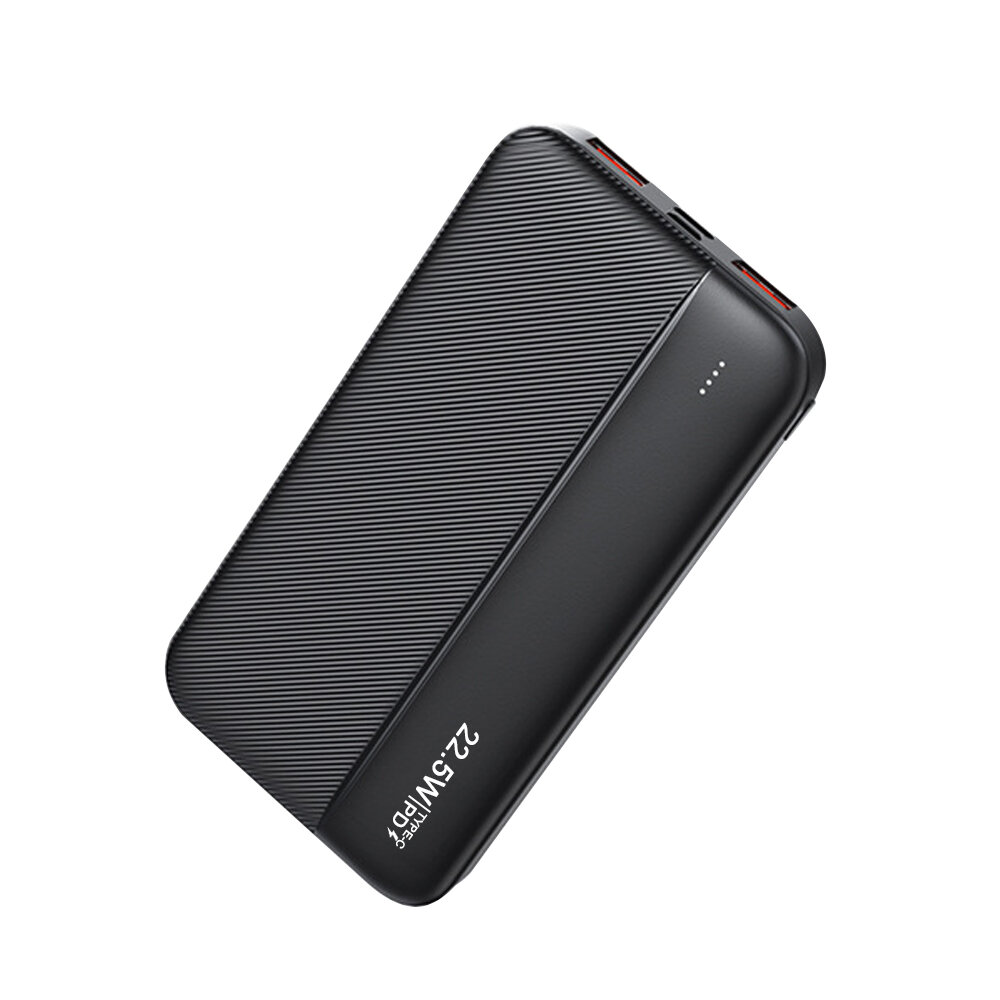 Bakeey 10000mAh Power Bank外部バッテリー電源(20W USB-C PD QC4.0 +および22.5WQC3.0 USB-A * 2をサポート)PPS AFC FCP SCPVOOCダッシュワープ急速充電iPhone12 Mini 12 Pro Max Samsung…