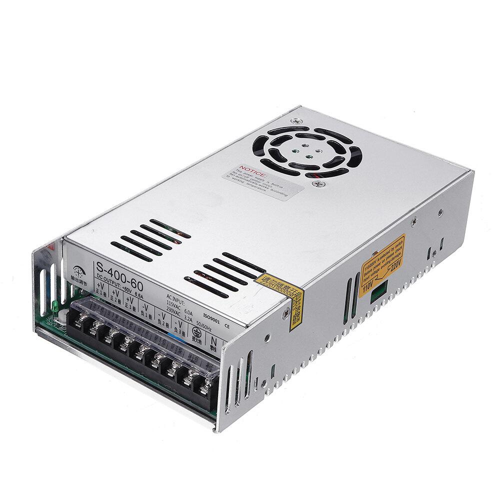 RD6006 / RD6006-W אספקת חשמל מיתוג LED S-400W-48V / DC12V / 24V / 36V / 60V 8.3A-33.3A תאורת שנאי ניטור תמיכה