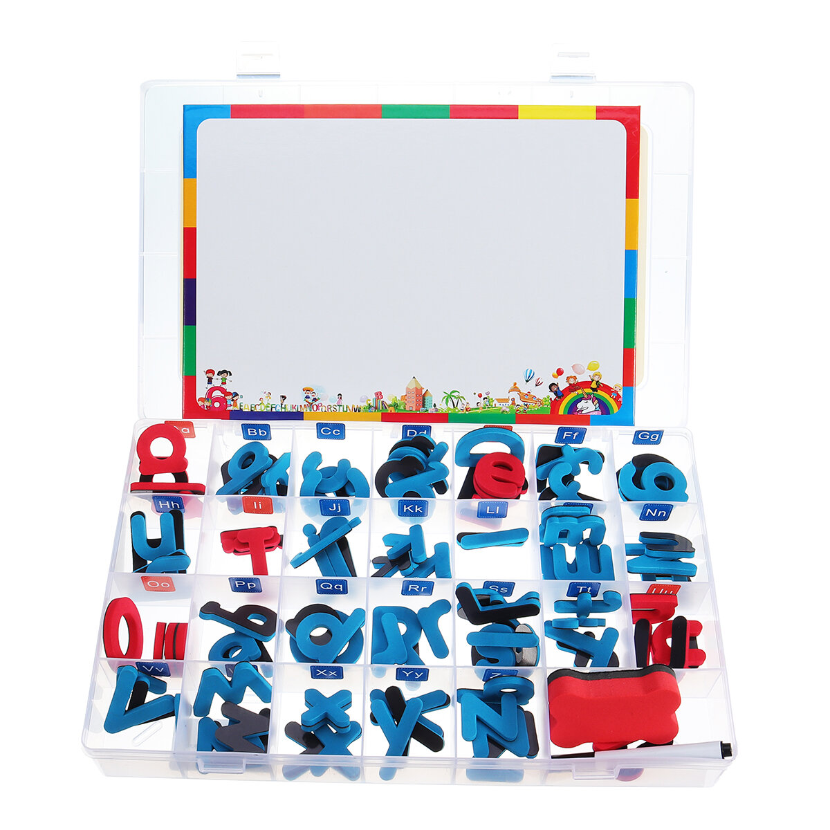 Childrens Magnetic Learning Alphabet Letters Numbers Drawing Whiteboard Alphabet Uppercase Lowercase Letters Educational