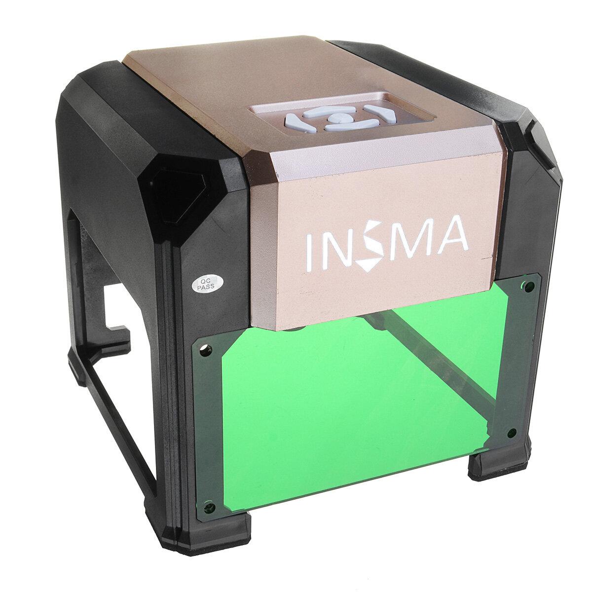 3000mW USB Laser Engraver Desktop DIY Logo Mark Printer Carver Laser Engraving Machine