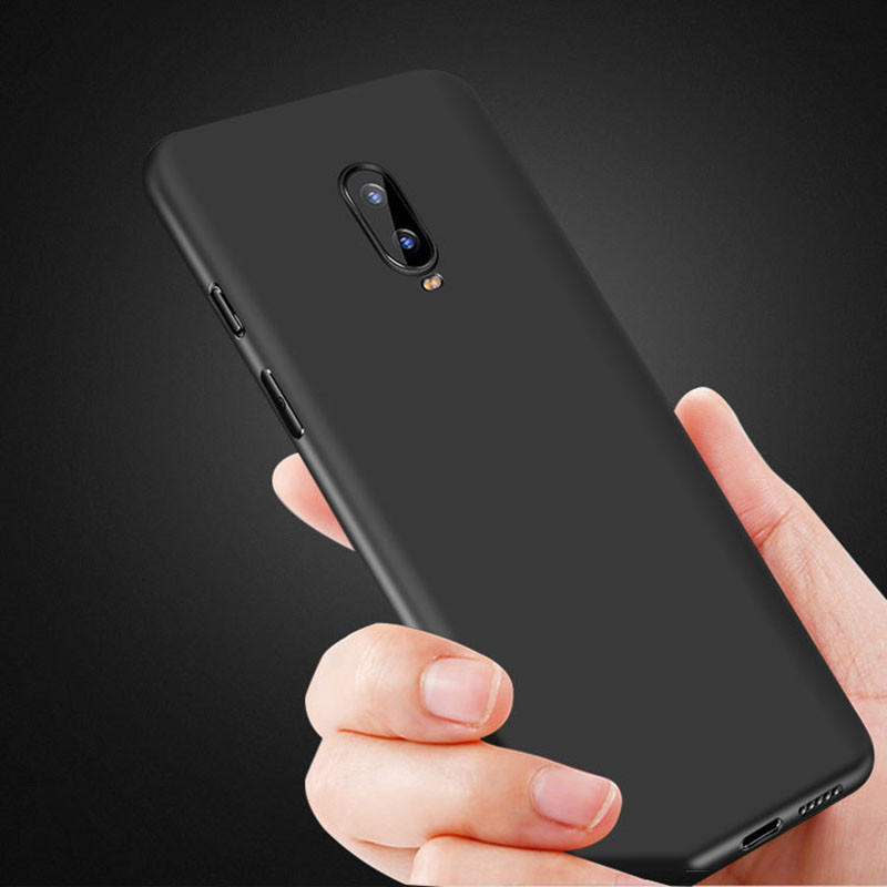 Bakeey Ultra-thin Matte Soft TPU Protective Case For OnePlus 7