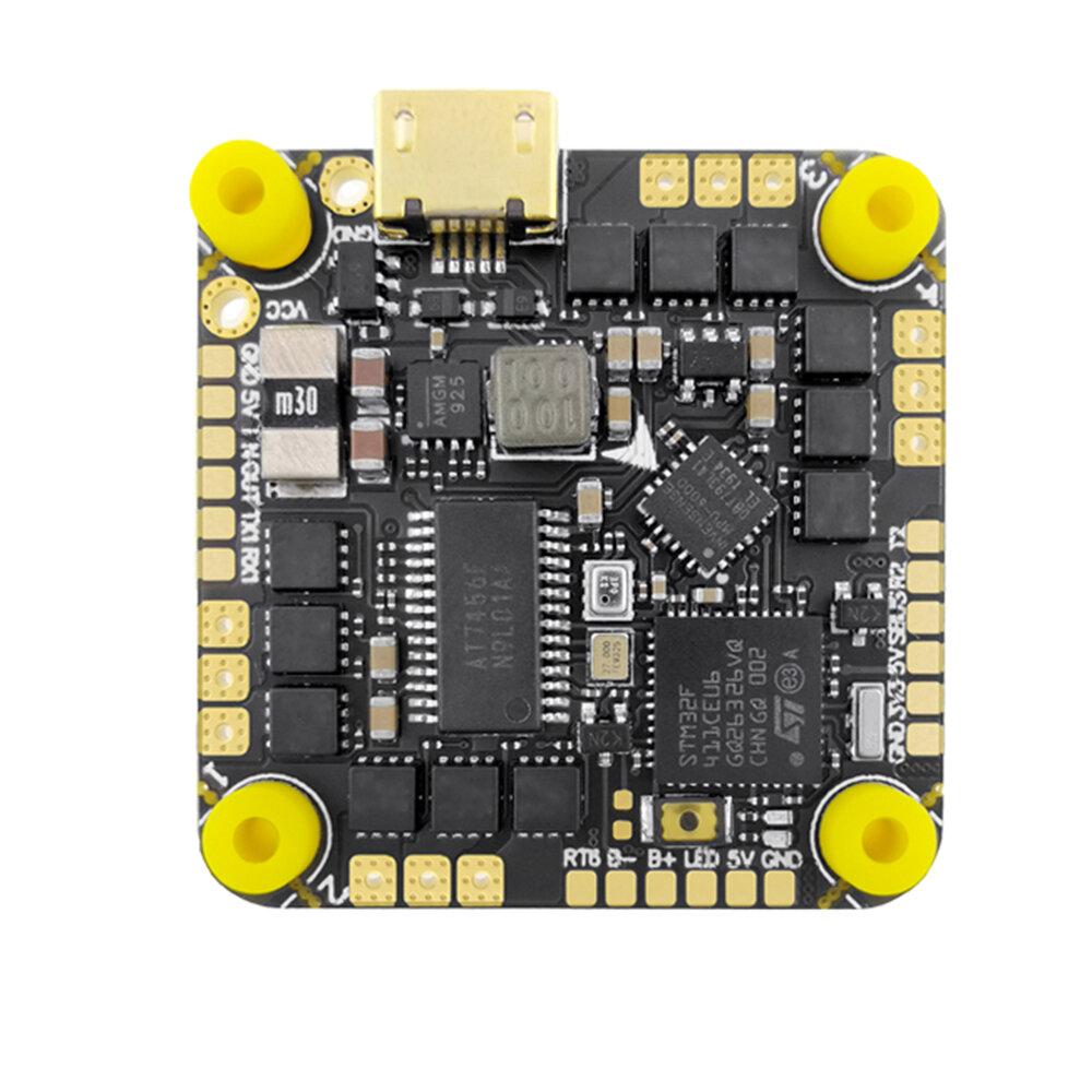 26 * 26mm HAKRC F411 35A 2-6S Suporte AIO PWM Multishot Oneshot DSHOT Flight Controller para Toothpick FPV Racing RC Dro