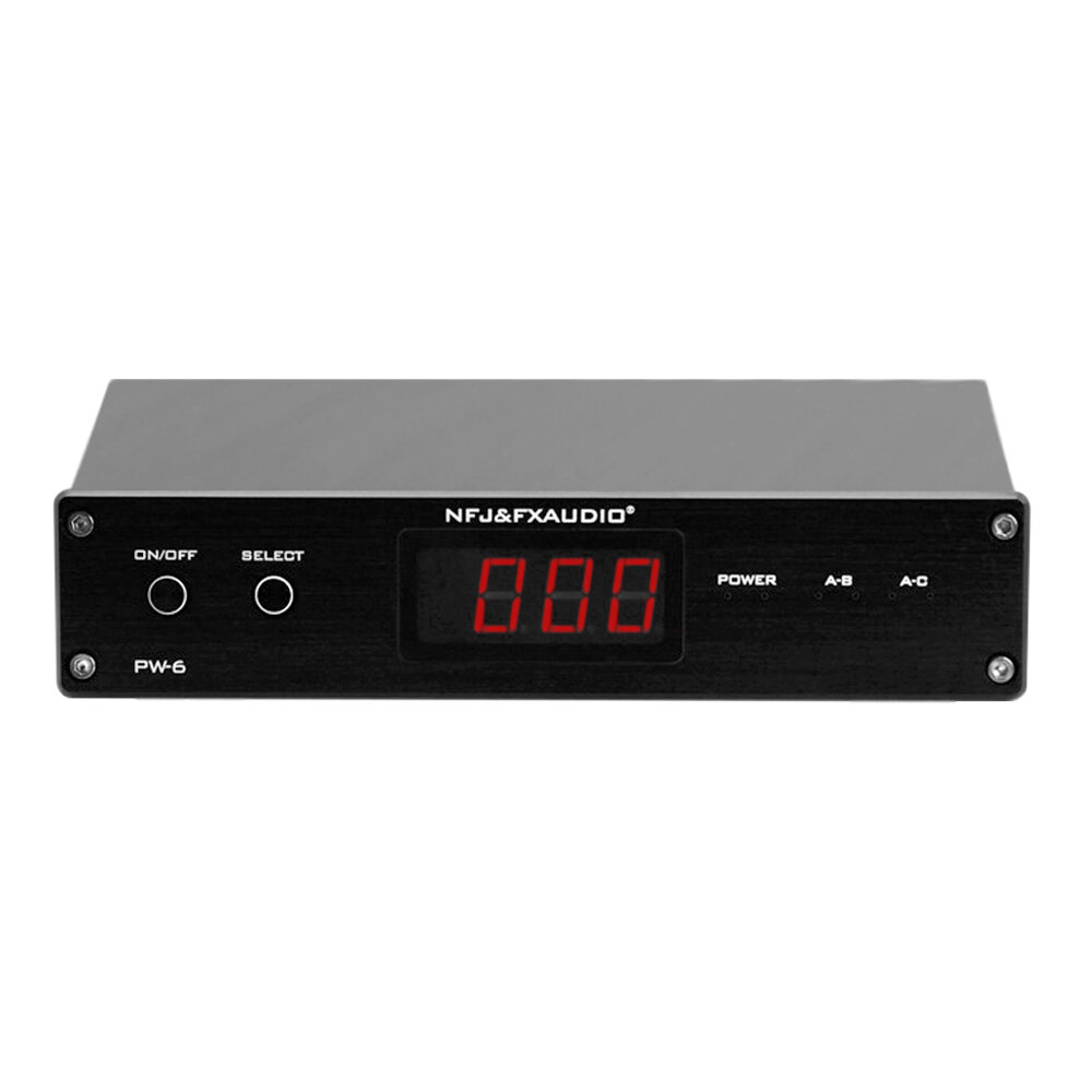 FX-Audio PW-6 HiFi Amplifiers Speaker Converter 2 in 1 out Remote control 1 in 2 out Convenient Comparison With Power Su