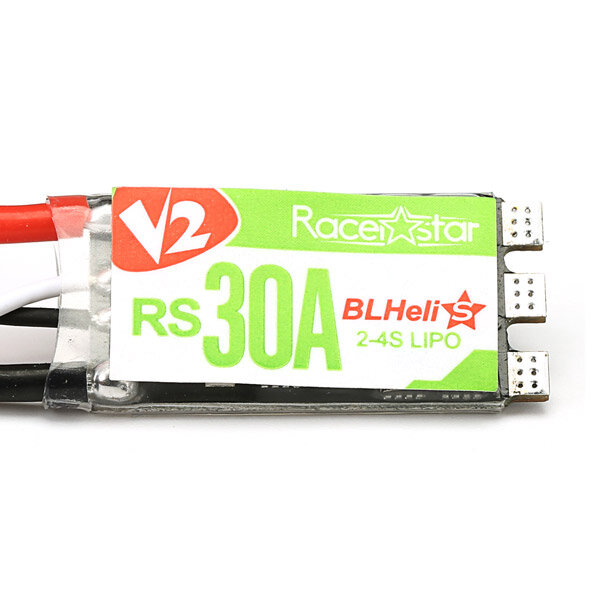 Racerstar RS30A V2 30ABlheli_SESC OPTO 2-4S Supporta Oneshot42 Multishot 16.5 Dshot600
