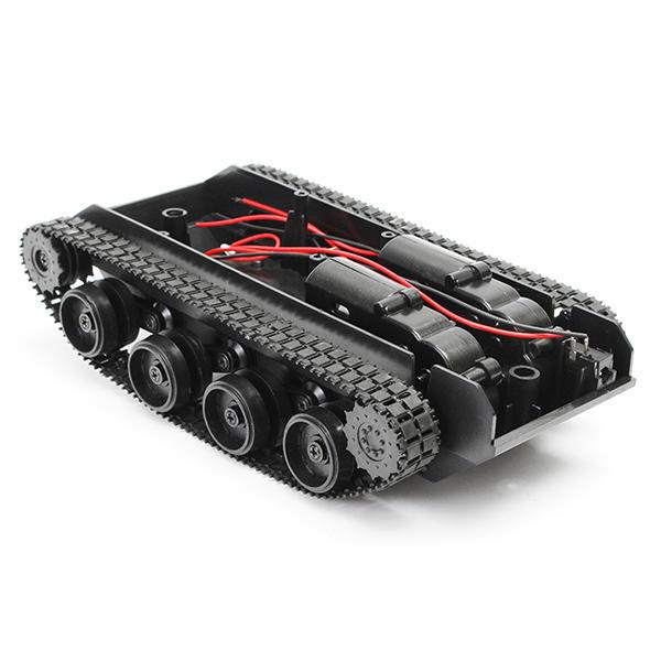 3V-7V Light Shock Absorbed Smart Robot Tank Chassis Car DIY Kit With 130 Motor