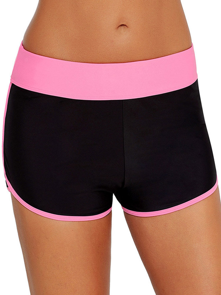 Mid Waist Swimming Trunks For Women By Banggood
