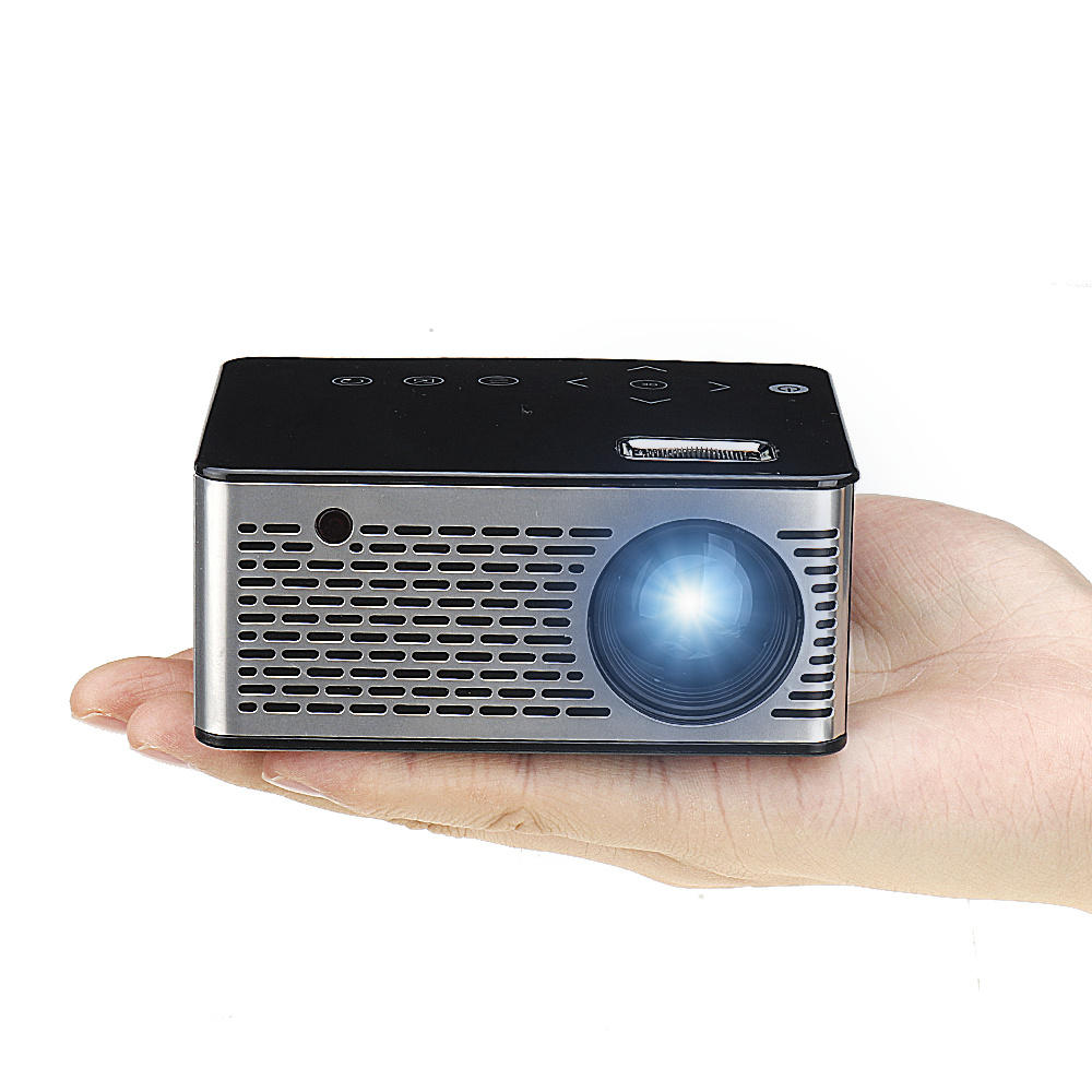 T200 Mini Micro LED Projector 500 ANSI LUMENS 400:1 320*240P Support 1080P Home Theater Projector