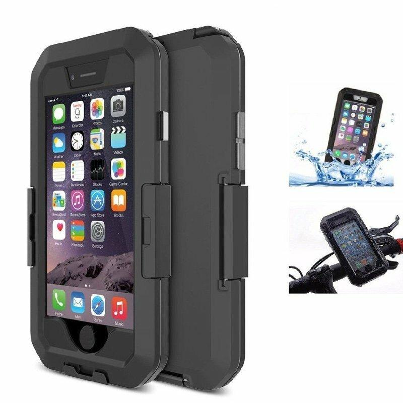 Túi đựng túi chống nước IPX8 Vỏ hộp đựng xe đạp PhonE-mount cho iPhone 6 6s 4.7 Inch