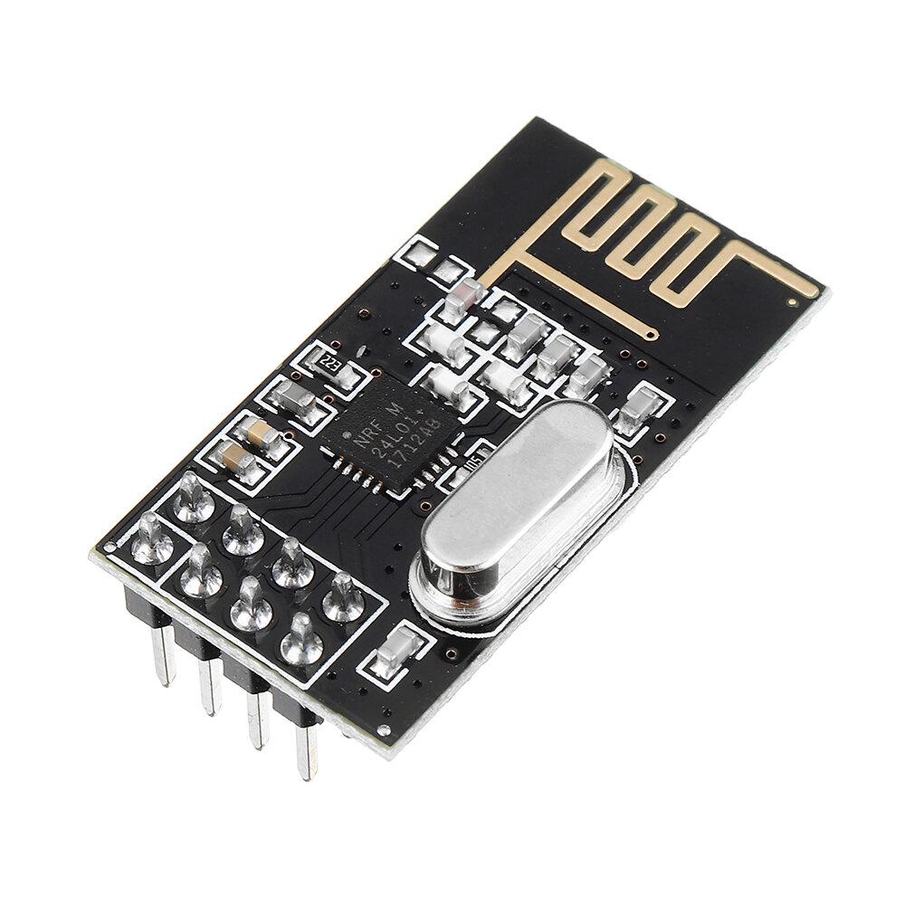 NRF24L01+ 2.4GHz Antenna Wireless Transceiver Module For Arduino MCU Transmission Distance 100M