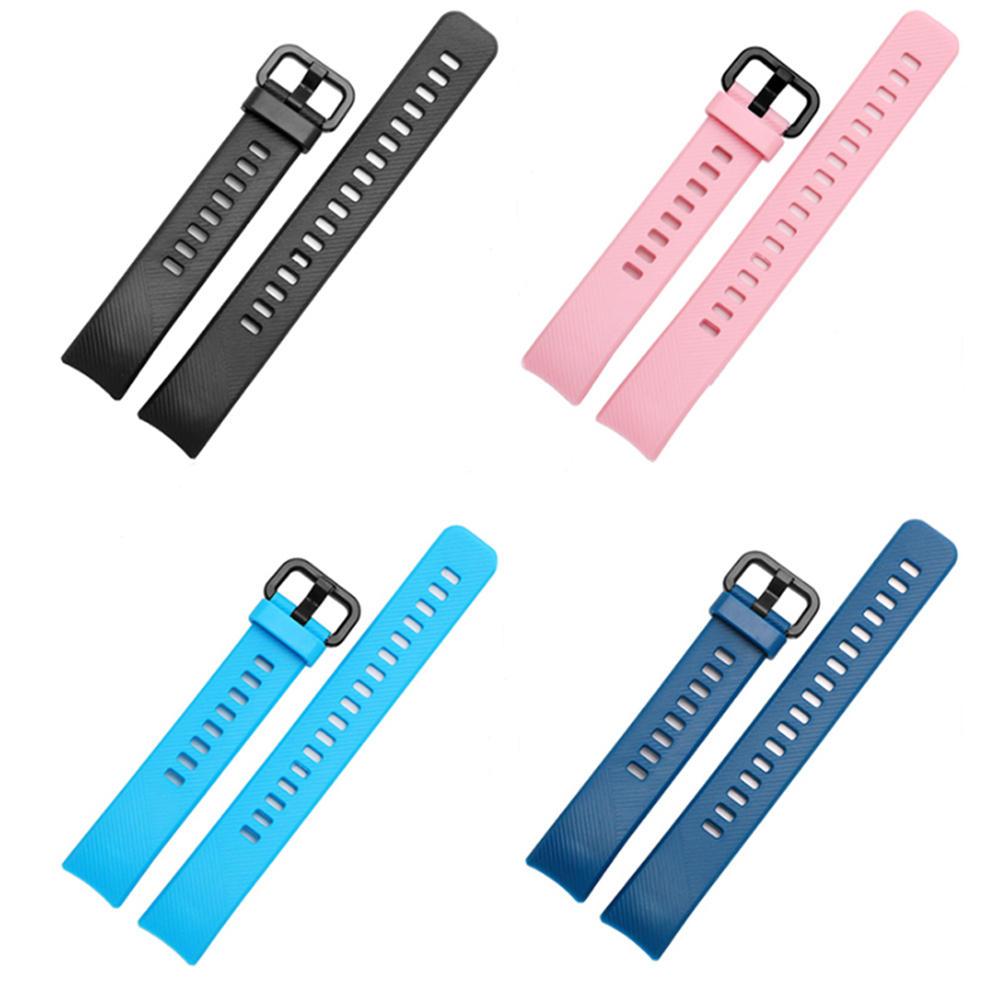 Bakeey Repuesto Silicona Colorful Reloj Banda Correa para Huawei Honor Reloj inteligente Band 4