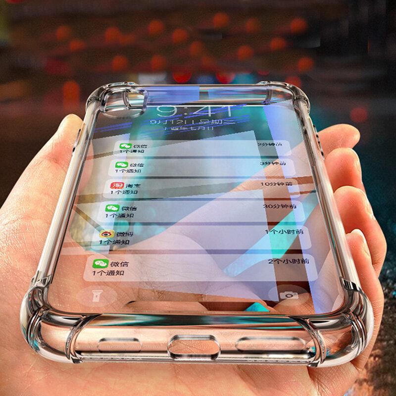 Bakeey Air Bag Shockproof Transparent Soft TPU Protective Case for SHARP AQUOS S3