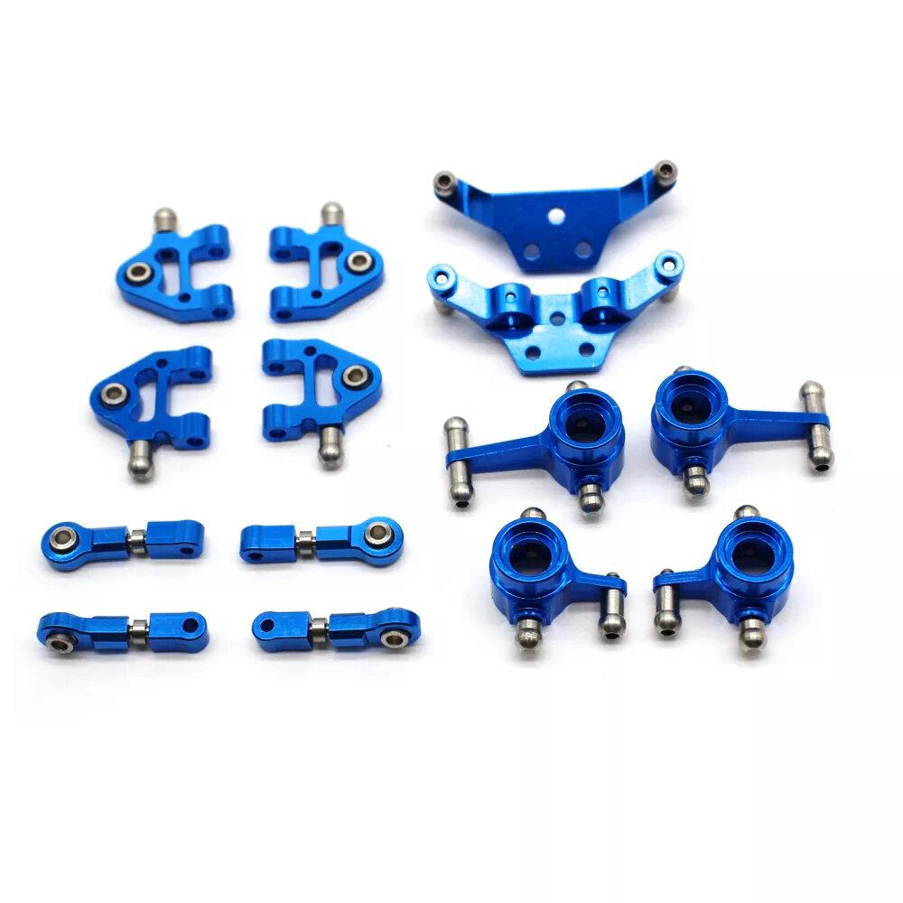 URUAV Обновление полного комплекта металла для 1/28 Wltoys P929 P939 K979 K989 K999 k969 RC Авто Запчасти