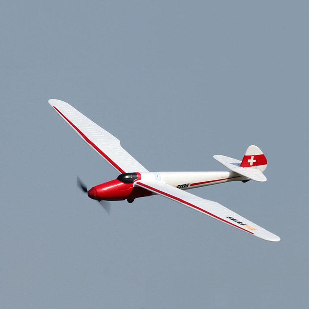 "FMS Moa Glider 1500MM (59.1"") Wingspan EPO Trainer Beginner RC Airplane RTF"