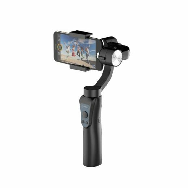 Jcrobot S5 3-Axis Handheld bluetooth Gimbal Stabilizer For Smartphones & GoPro Hero Action Camera