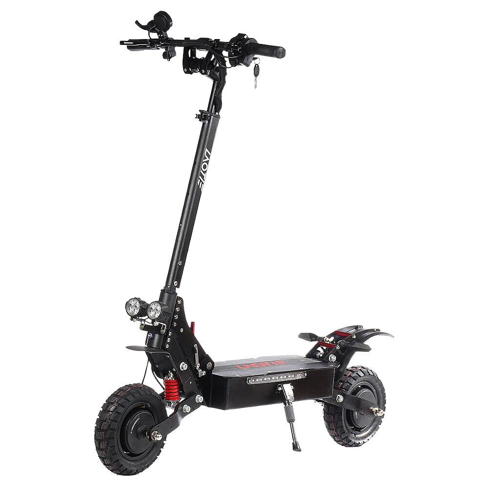 LAOTIE® ES18 Lite 52V 28.8Ah 21700 Battery 2400W Dual Motor Foldable Electric Scooter 65Km/h Top Speed 100km Mileage 200kg Bearing EU Plug