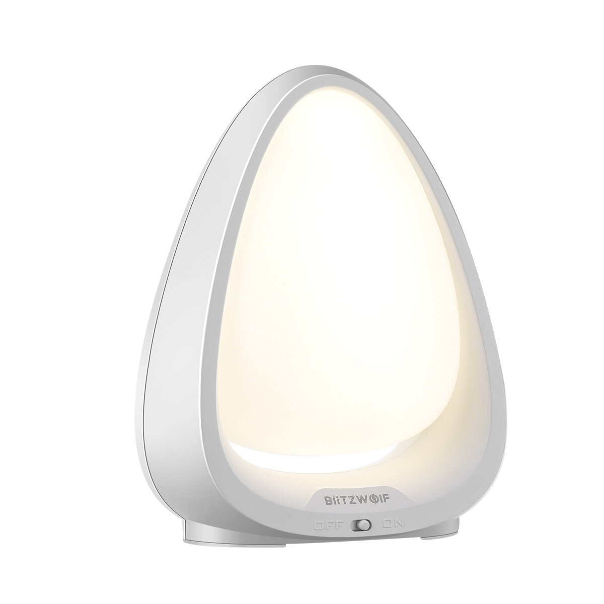BlitzWolf® BW-LT9 Touch Switch Color Night Light 4000K Color Temperature 85 Lumens 240° Lighting Angle Lamp