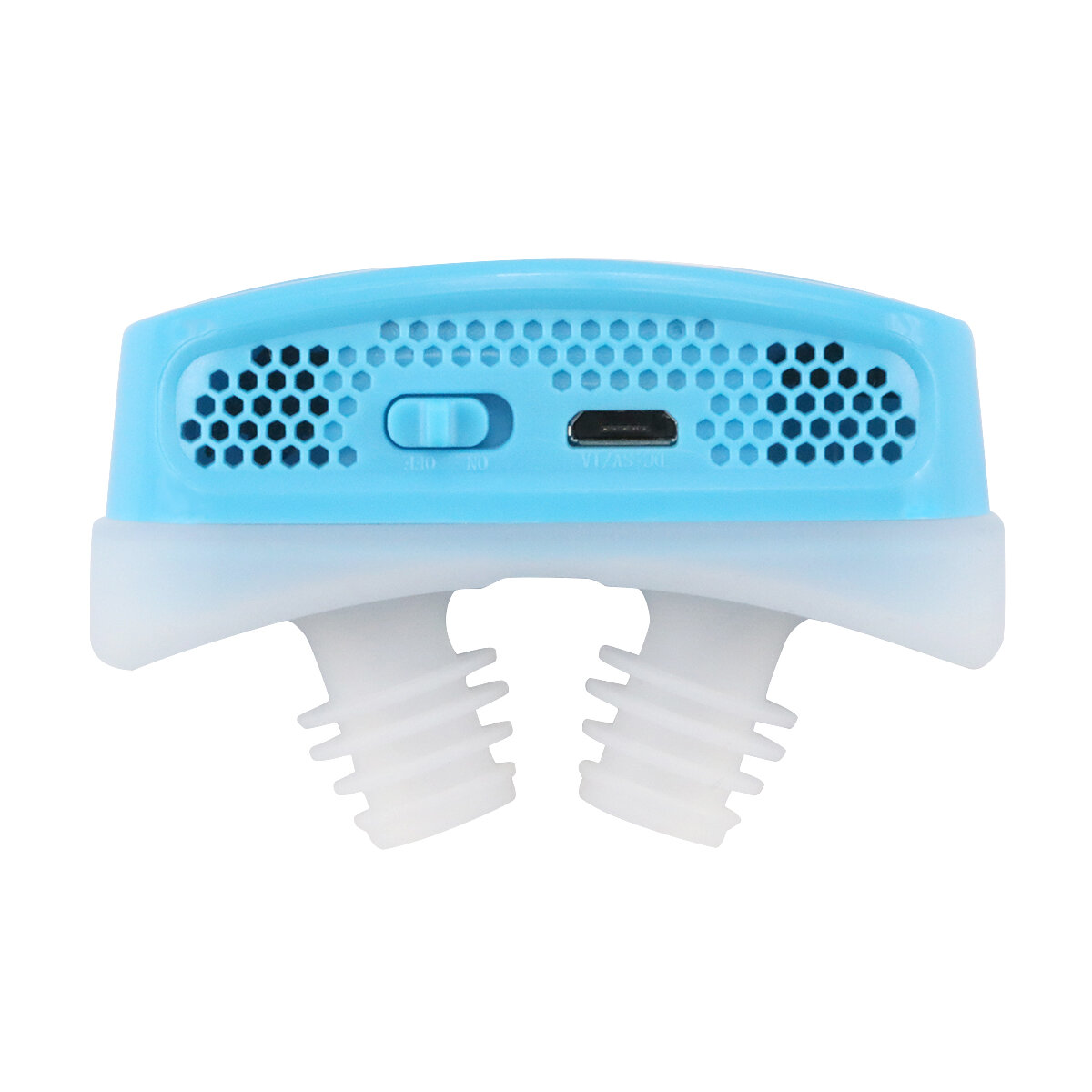 USB Rechargeable Snore Stopper Anti Snore Device PM2.5 Air Purifier Reduce Snore Sleeping Aid Nose Clip