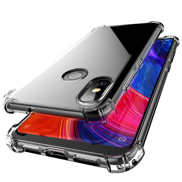 Bakeey Transparent Shockproof Soft TPU Protective Case For Xiaomi Mi8 SE 5.88 inch