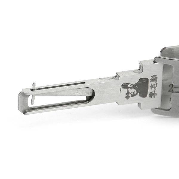 Lishi VA2T V.3 2 In 1 Car Door Lock Pick Decoder Unlock Tool Locksmith Tools