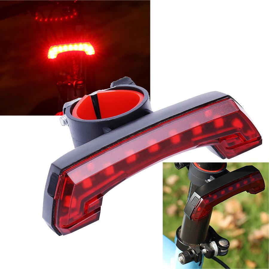XANES TL24 110LM COB Cycling Bicycle Bike Tail Light 4 Modes USB Charging Waterproof 600mAh Battery