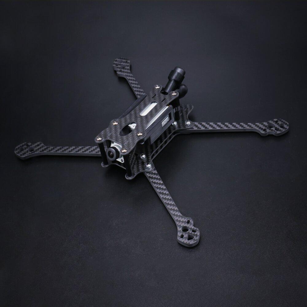 Eachine Tyro119 HD 260mm Wheelbase 5mm Arm Thickness 3K Carbon Fiber 6 Inch Freestyle Frame Kit Compatible w/ DJI Air Un