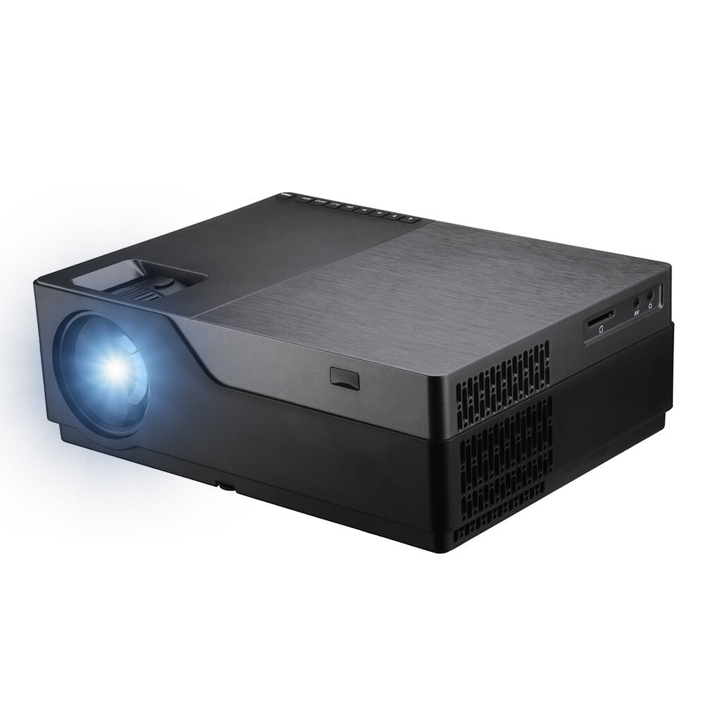 AUN M18 Full HD Projecteur 5500 Lumens 1920x1080 LED Support de projecteur AC3 Cinéma maison