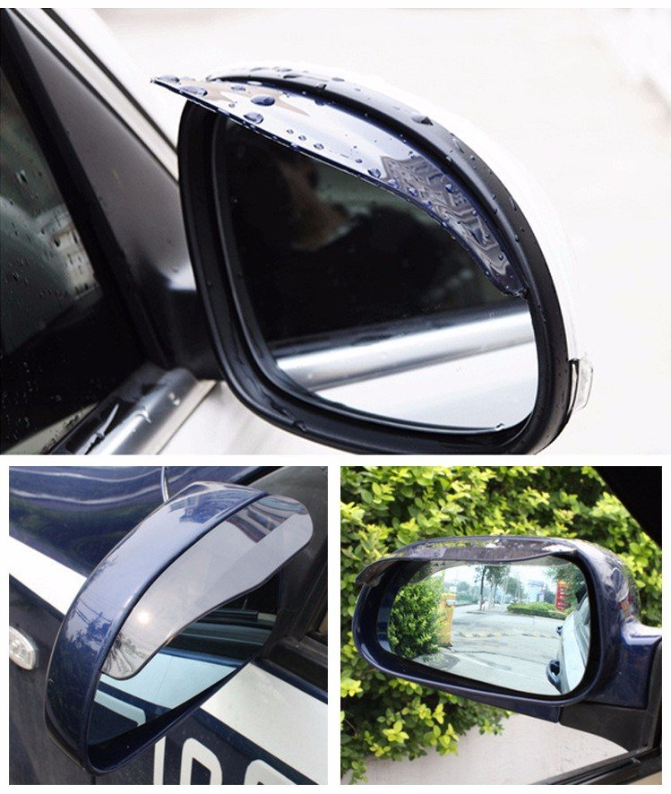 Car Shield Prices >> Car Door Side Rear View Wing Mirrors Rain Visor Guard Weather Shield