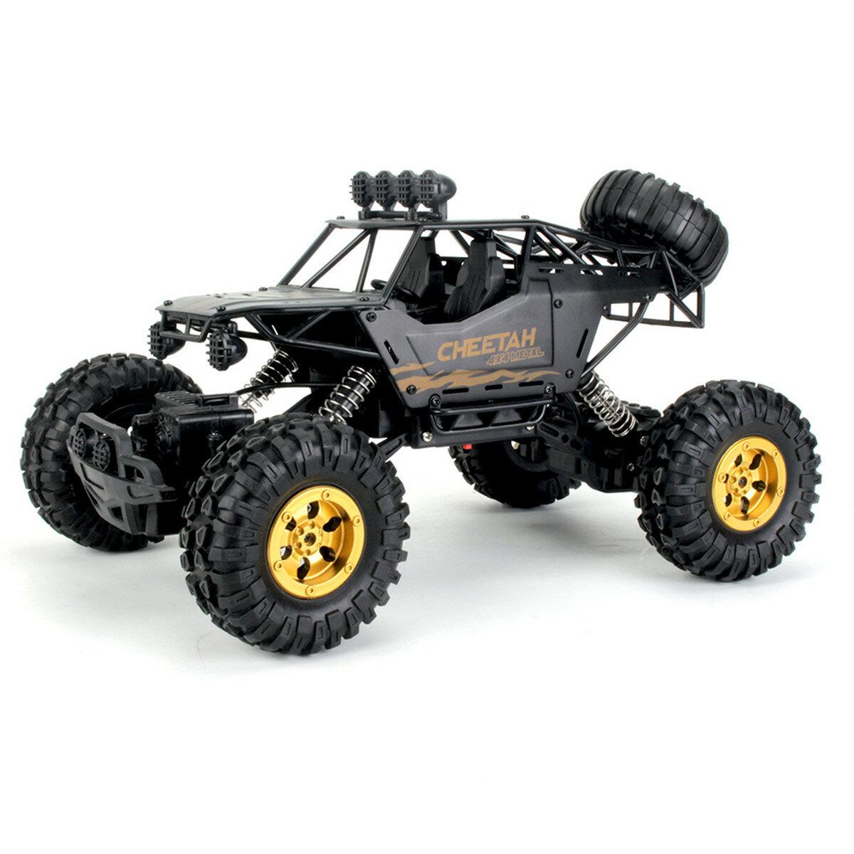 KYAMRC 1/12 2.4G 4WD RC Car Crawler Metal Body Vehicle Models Truck Indoor Outdoor Toys