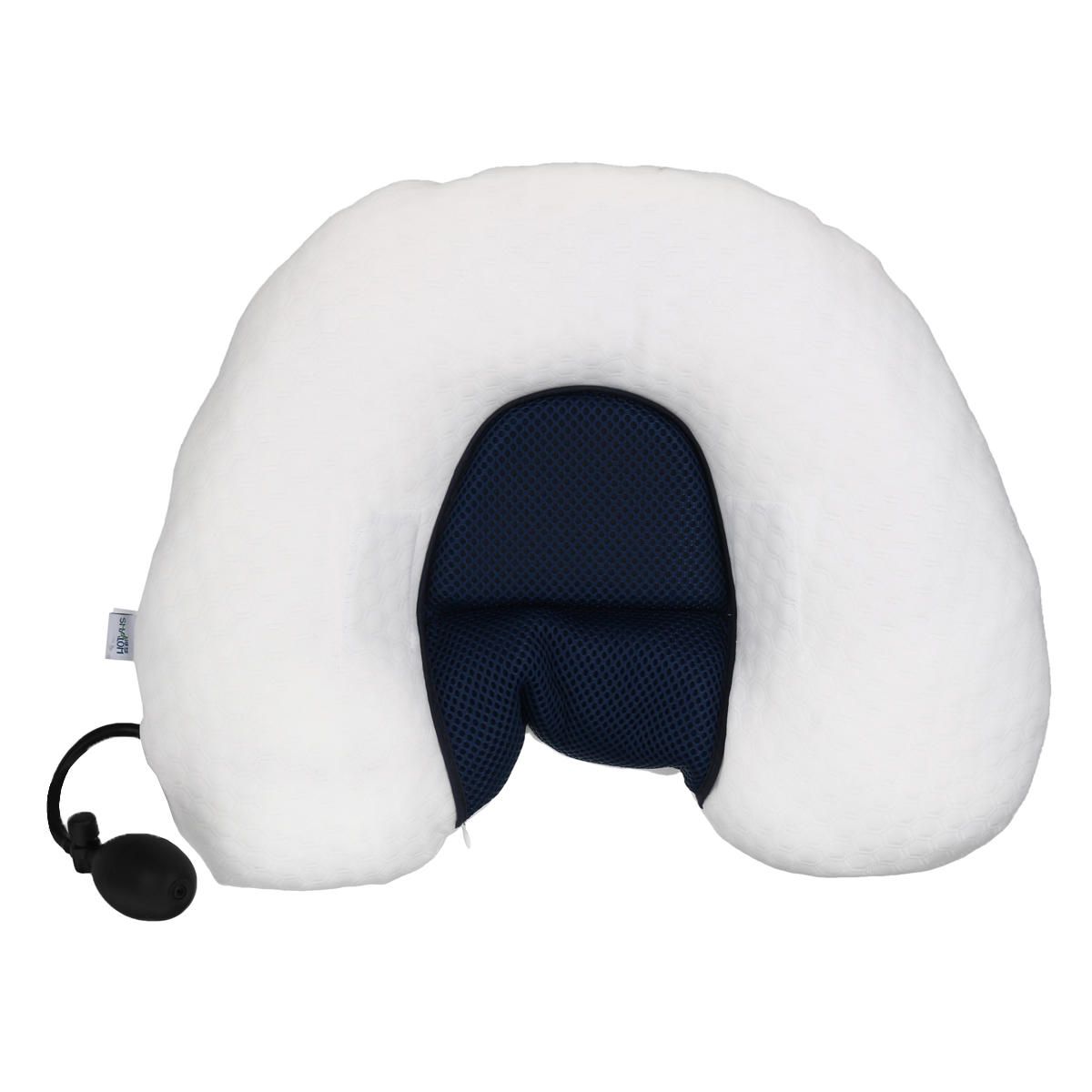 Inflatable Cervical Pain Bed Pillow Neck Support Ergonomic Orthopedic Travel Support Cushion